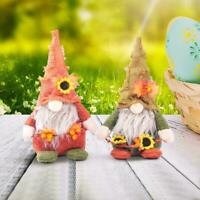 2021 Harvest Festival Gnomes Doll Sunflowers Boy and Berry Dolls Girl F1D4