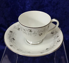 Moon Mist Footed Demitasse Cup & Saucer Set by Fine China of Japan 3000
