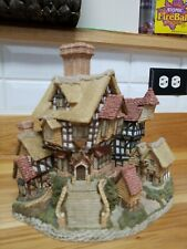 David Winter Cottage 1984 The Parsonage Hand Made & Painted Used