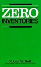 Zero Inventories (IRWIN/APICS SERIES IN PRODUCTION MANAGEMENT): By Robert W. ...
