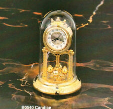 BULOVA Solid Brass Miniature Clock Candice B0540 - PERFECT AS GIFT