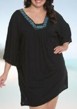 New Dotti Swimsuit Bikini Cover Up Dress  Plus Size 2X  jeweled