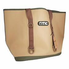 RTIC Large Beach Bag Tan Fast Free Shipping New 2019