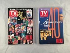 TV Guide 200th issue & 40th Anniversary - Both in Excellent Very Fine condition