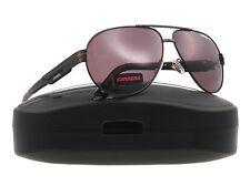 Carrera 13 S Brown Matte Havana WEQ8H Sunglasses Aviator Authentic New 60-11-135