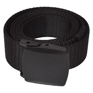 Security-Hosen-Gürtel, 100% metallfrei, stabiles Cordura-Gewebe, Breite 3.8 cm