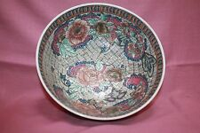 Heavy/ Oriental Bowl /Made In China/ Decorative