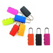2pcs Security Combination Locks Travel Luggage Bag Padlock Gym Locker KY
