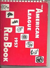 1957 American League Baseball Red Book,