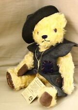"""Vintage Hermann Mohair Teddy Bear Old Thuringia Teddy Bear Stuffer 17"""" growler"""