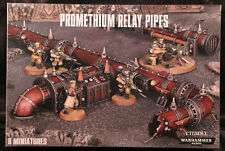 Warhammer 40K: Promethium Relay Pipes (65-48) NEW