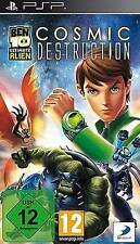 Playstation sony psp Ben 10 ultimate Alien 4 cosmic destruction NEUF
