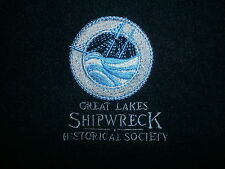GREAT LAKES SHIPWRECK HISTORICAL SOCIETY JACKET Boat Coat Embroidered Fleece