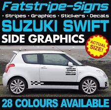 SUZUKI SWIFT GRAPHICS STICKERS STRIPES DECALS SPORT SZ-R 1.3 1.4 1.5 1.6 D