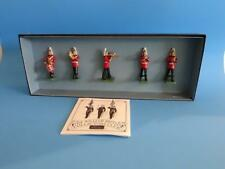 MI-601 - Band of the Life Guards Set #2 (5 figures) - Britains 00157 - 54mm Meta