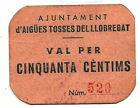 Town Hall Of Aigües Tosses Del Llobregat 50 C. Sant Andreu @ Baig Llobregat @
