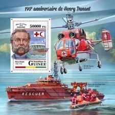 Guinea 2018 Henry Dunant red cross s/s S201803