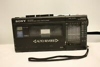 SONY WA-8000 STEREO CASSETTE TAPE CORDER FM MW SW 9 BANDS SPARE & REPAIR