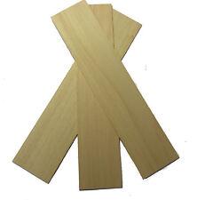 Obeche Wood Panels 100mm x 450mm x 6mm - Pack of 3 Sheets OBE4X3