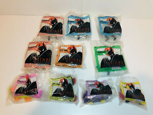 Batman The Animated Series McDonald's Toys (Complete Set Of 8, Plus 2 Extras)
