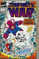 Infinity War #3-1992 nm- 9.2 Giant-Size Avengers Jim Starlin / Thanos