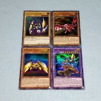 Yugioh XYZ Dragon Cannon Head Metal Tank Ultra Rare 4 Card Kaiba Fusion Set