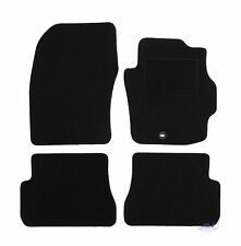 Quality FULLY TAILORED Black floor Car Mats MAZDA 3 SERIES 2004-2009  4pcs