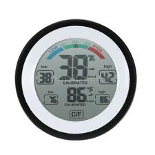 Digital LCD Thermometer Hygrometer Wall-Mounted Desk Temperature Humidity Meter