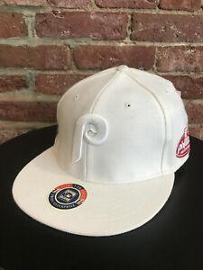 NEW VINTAGE MLB PHILADELPHIA PHILLIES FITTED HAT TWINS ENTERPRISE SIZE 7 7/8