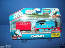 THOMAS TRACKMASTER MOTORIZED ENGINE - New Style Faster  - Thomas w/ red car NIB