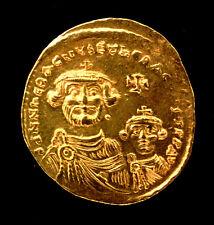 SOLIDUS CONSTANTINOPLE HERACLIUS ET SON FILS (610-641) OFFICINE 5