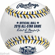 BRAND NEW MLB 2016 ALL-STAR OFFICIAL GAME BALL BASEBALL (San Diego) in Box