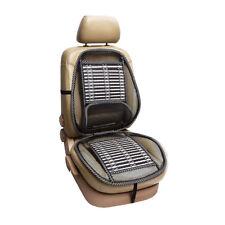 Mesh Bamboon Lumbar Brace Back Support Pad Waist Massage Car Seat Cushion @