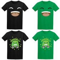 Crazy Jelly Merch Girls Boys Youtuber Gamer Tee Top Kids T-Shirt