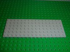 Plaque plate Oldgray 6 x 16 LEGO ref 3027 / set 10030/8680/1651/720/6764/6755...