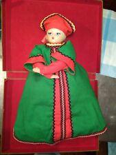 "Vintage Tea Samovar Doll RUSSIA USSR RARE Moscow souvenir 48cm / 19"" Big Size"
