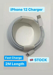 2M Iphone 12,12 Pro, Max ,iphone 11 USB Type C Fast Charger Data Sync Cable