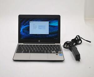 "HP Chromebook 11 G5 X9U01UT 11.6"" Celeron 1.6GHz 2GB RAM 16GB SSD Chrome OS"