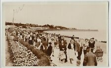 Suffolk; Promenade, Felixstowe RP PPC By Photo Precision, Unposted, c 1950's