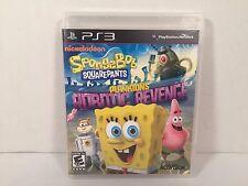 Spongebob Squarepants Planktons Robotic Revenge PS3 Playstation 3 Tested Working