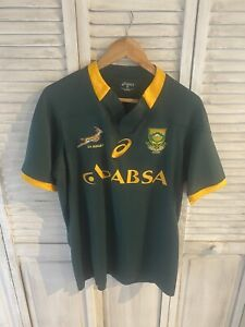asics south africa official rugby jersey xl extra large