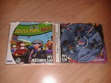 South Park Rally NTSC USA US Import Sega Dreamcast Wacky Rude Weapons Kart Racer