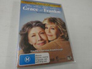 Grace And Frankie : Season 2 (DVD, Region 4, 3-Disc Set) New,  BD4
