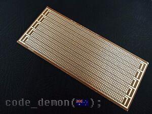 Prototype PCB 8.5 x 20cm Universal Matrix Printed Circuit Board - Arduino / AVR
