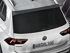 Genuine VW Tiguan + AllSpace Rear Roof Spoiler - Black Pearl Effect (2017-ON)