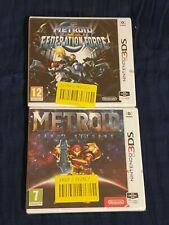 B. NEW Metroid - Samus Returns & Metroid Prime: Federation Force (Nintendo 3DS)