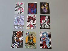 9 cartes Monster High