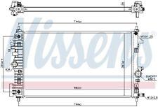 NISSENS Motorkühler Wasserkühler 606049 für OPEL INSIGNIA G09 Sports Tourer CDTi