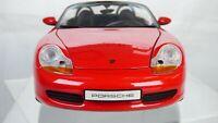 Porsche 1996 Boxter Convertible Cabrio Red Rare 1:18 UT Models Toy Model Car