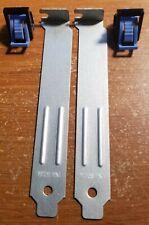 DELL Precision PowerEdge XPS PCI Slot Locking Clip / Blank Kit 2 Pack